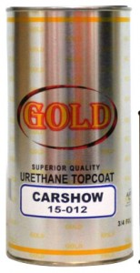 Gold Urethane Top Coat