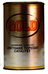 gold top coat catalyst